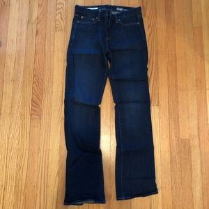 GAP 1969 stretch perfect boot jeans